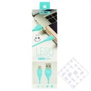 (1009780) Кабель USB Type-C REMAX Lesu RC-050a (1m) blue