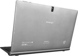 (1009852) Планшетный компьютер PRESTIGIO Visconte S  Cool Gray [PMP1020CESR] 11.6'', 1920x1080, Windows 10, Intel Atom x5-Z8300, 2GB+32GB, 2.0 MP+5.0 MP, WIFI, 7500mAh, RU+US Клавиатура в комплекте
