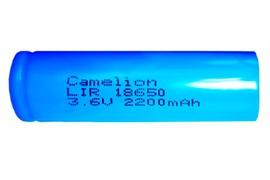 (1009903) Аккумулятор Camelion LIR18650 б/з 2200mAh Li-Ion (1)