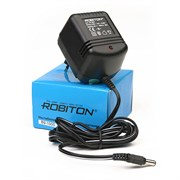 (1009900) Адаптер/блок питания ROBITON B9-350 (350мА  5,5х2,1/12)