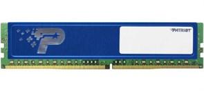 (1009950) Память DDR4 4Gb 2400MHz Patriot PSD44G240041H RTL PC4-19200 CL16 DIMM 288-pin 1.2В