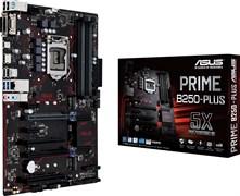 (1009943) Материнская плата Asus PRIME B250-PLUS Soc-1151 Intel B250 4xDDR4 ATX AC`97 8ch(7.1) GbLAN+VGA+DVI