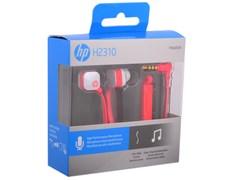 (1009940) Гарнитура вкладыши HP In-Ear H2310 1.5м коралловый проводные