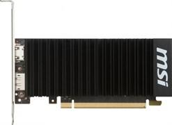 (1009973) Видеокарта MSI PCI-E GT 1030 2G LP OC NV GT1030 2048Mb 64b GDDR5 1265/6008/HDMIx1/DPx1/HDCP Ret low