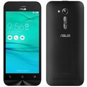 "(1009972) Смартфон Asus Zenfone Go ZB500KL 32Gb черный моноблок 3G 4G 2Sim 5"" 720x1280 Android 6.0 13Mpix 802.11bgn BT GPS GSM900, 1800 GSM1900 TouchSc MP3 FM A-GPS microSD max128Gb (90AX00A1-M02030)"