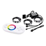 (202898) Моддинг Светодиодная лента Deepcool RGB 360 COLOR LED (комплект цветового дооснащения корпуса, 3 ленты по 300mm, RGB, подключение к БП Molex)