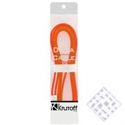 (1010016) USB кабель Krutoff для iPhone 5/5C/5S с магнитом (1m) оранжевый в коробке