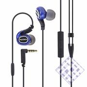 (1010114) Наушники с микрофоном и регулятором громкости REMAX S1 Pro (blue)