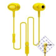 (1010112) Наушники с микрофоном REMAX RM-515 (yellow)