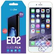 (1010109) Комплект защитных стекол dotfes E02 для iPhone 6/6s (три стекла + рамка для наклеивания)