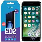 (1010108) Комплект защитных стекол dotfes E02 для iPhone 7 (три стекла + рамка для наклеивания)