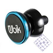 (1010100) Держатель в автомобиль Ubik UCH03 универсальный (синий)