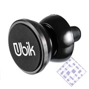 (1010099) Держатель в автомобиль Ubik UCH03 универсальный (серый)
