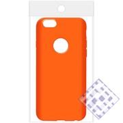 (1010085) Накладка силиконовая для iPhone 6/6S (orange) техупаковка