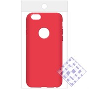 (1010083) Накладка силиконовая для iPhone 6/6S (red) техупаковка