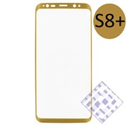 (1010078) Стекло защитное 3D Krutoff Group для Samsung Galaxy S8+ gold