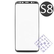 (1010076) Стекло защитное 3D Krutoff Group для Samsung Galaxy S8 black