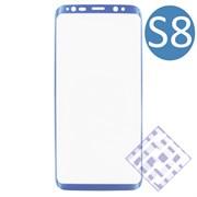 (1010070) Стекло защитное 3D Krutoff Group для Samsung Galaxy S8 blue
