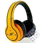 (1010057) Наушники SMS Audio SYNC by 50 Over-Ear Wireless Yellow (жёлтые)