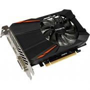 (1010150) Видеокарта Gigabyte PCI-E GV-N105TD5-4GD NV GTX1050TI 4096Mb 128b GDDR5 1290/7008 DVIx1/HDMIx1/DPx1/