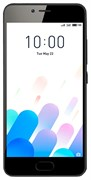 "(1010124)  Смартфон Meizu M5c Черный, MediaTek MT6737x4, 2Gb, 16Gb, Mali-T860 MP2, 5"", IPS (1280x720), Android 6, 3G, 4G/LTE, WiFi, GPS/ГЛОНАСС, BT, Cam, 3000mAh"