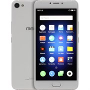 "(1010127) Смартфон Meizu U10 Silver, MT6750, 2Gb, 16Gb, Mali-T860 MP2, 5"", IPS (1280x720), Android 6, 3G, 4G/LTE, WiFi, GPS/ГЛОНАСС, BT, Cam, 2760mAh [U680H 16Gb S/W]"