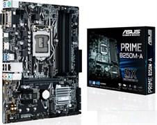 (1010163) Материнская плата Asus PRIME B250M-A Soc-1151 Intel B250 4xDDR4 mATX AC`97 8ch(7.1) GbLAN+VGA+DVI+HDMI