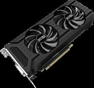 (1010185) Видеокарта PALIT nVidia GeForce GTX 1080 , PA-GTX1080 Dual OC 8G, 8Гб, GDDR5X, OC, Ret NEB1080U15P2-1045D