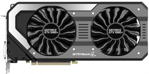 (1010184) Видеокарта Palit PCI-E PA-GTX1070 JETSTREAM 8G NV GTX1070 8192Mb 256b GDDR5 1506/8000 DVIx1/HDMIx1/D