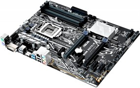 (1010190) Материнская плата Asus PRIME Z270-P Soc-1151 Intel Z270 4xDDR4 ATX AC`97 8ch(7.1) GbLAN RAID+DVI+HDM