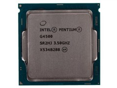 (1010217) CPU Intel Pentium G4500 Skylake BOX {3.5ГГц, 3МБ, Socket1151}