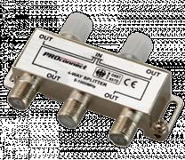 (1010241) Proconnect Делитель ТВ х 4 под F разъём 5-1000 МГц