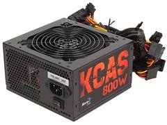 (1010324) Блок питания Aerocool ATX 800W KCAS-800W 80+ bronze (24+4+4pin) APFC 120mm fan 7xSATA RTL