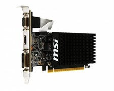 (1010351) Видеокарта MSI PCI-E GT 710 2GD3H LP NV GT710 2048Mb 64b DDR3 954/1600 DVIx1/HDMIx1/CRTx1/HDCP Ret l