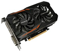 (1010349) Видеокарта Gigabyte PCI-E GV-N1050OC-2GD NV GTX1050 2048Mb 128b GDDR5 1379/7008 DVIx1/HDMIx1/DPx1/HD