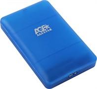 "(1010336) Внешний корпус для HDD/SSD AgeStar 3UBCP3 SATA пластик белый 2.5"""