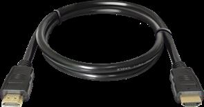(199315)  Кабель HDMI (M) -> HDMI (M),  1.0m,  Defender HDMI-03, v.1.4 (87350)