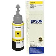 (1010195) EPSON C13T67344A  Чернила для L800 (yellow) 70 мл (cons ink)