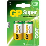 (1010381) Батарейка GP Super Alkaline 14A LR14 C (2шт)