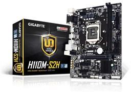 (1010455) Материнская плата Gigabyte GA-H110M-S2H Soc-1151 Intel H110 2xDDR4 mATX AC`97 8ch(7.1) GbLAN+VGA+DVI+HDMI