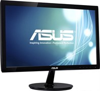 "(1010490) Монитор Asus 19.5"" VS207DF черный TN+film LED 5ms 16:9 Mat 600:1 200cd"