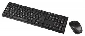 (1010483) Клавиатура + мышь Oklick 210M клав:черный мышь:черный USB беспроводная