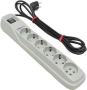 (1010481) Сетевой фильтр Pilot L 7м (6 розеток) белый (коробка)