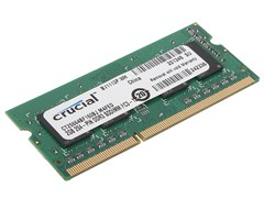(1010540) Память DDR3L 2Gb 1600MHz Crucial CT25664BF160BJ RTL PC3-12800 CL11 SO-DIMM 204-pin 1.35В