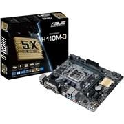 (1010537) Материнская плата Asus H110M-D Soc-1151 Intel H110 2xDDR4 mATX AC`97 8ch(7.1) GbLAN+VGA+HDMI