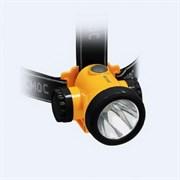 (1010638) Фонарь Космос KOCH3WLi-On (налобный, светодиодный, аккумуляторный, 1*3W LED, 600mAh USB шнур в компл)