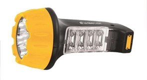 (1010620) Фонарь Ultraflash LED3818 (ручной, аккумуляторный, светодиодный, 7+8 LED, 4V 500mAh, зарядка от 220V) (5)(60)