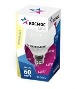 (1010596) Светодиодная Лампа Космос premium 7Вт ШАР 45 мм E14 230v 3000K
