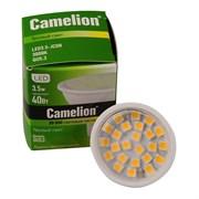 (1010594) Лампа Camelion LED3.5-JCDR/830/GU5.3 (светодиодная 3.5Вт 220В) (10)