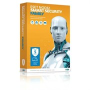 (1010698) ПО Eset NOD32 Smart Security Family - унив лиц, прод на 20 мес или новая на 3 устройства 1 год Box (NOD32-ESM-1220(BOX)-1-3)